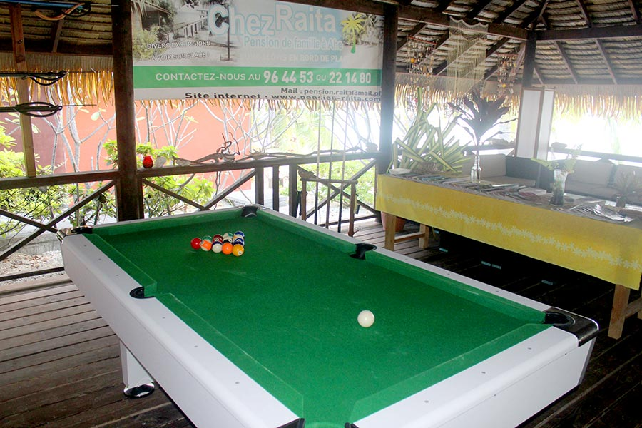 Billard dans la pension